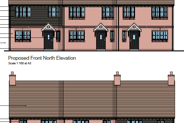 Rose and Crown Elevation